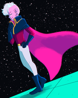 Space Pirate Lars by scribblywobbly