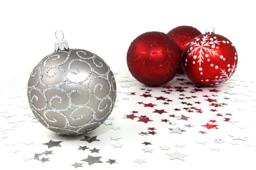 Christmas Ornament Balls by SweetSoulSister