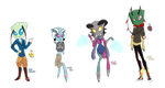 Invader Zim Themed Set Price Points Adopts (CLOSE) by Miikage