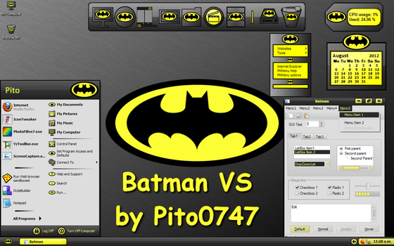 Batman VS for XP by pito0747