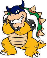 Bowser artwork(Rookie version) by axelkoopa2