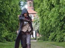Draw for Liberte / AC Unity Arno Dorian Cosplay by KADArt-Cosplay