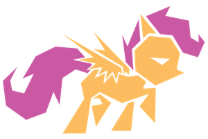 Polygonal - Scootaloo by flamevulture17