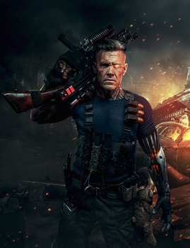 Deadpool 2 Cable by ehnony