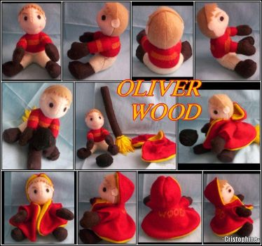Quaffle Catcher - Oliver Wood by Cristophine