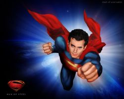 Man Of Steel by urielwelsh