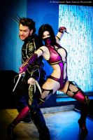 Milena MK cosplay, cosplay Wolverine X-Men by AsherWarr