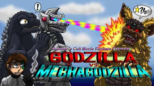 Brandon's Cult Movies: Godzilla vs MechaGodzilla by Enshohma