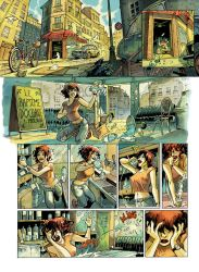 Le Bapteme d'Oceane planche 1 by serge-fiedos