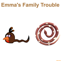 RBT S5 Ep. 3 Emmas Family Trouble Title Card by Mario1998