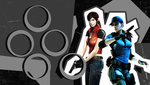 Claire and Jill wall PS Vita by VickyxRedfield