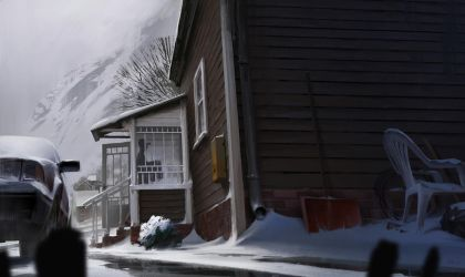 Nowhere Express ep 2 frame by maykrender