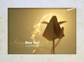 happy new year 2012 by lalitkala