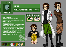 Official OC ref sheet: Phill Sawer by AngieTheShyGirl