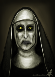 the Nun by RatTheRipper