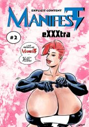 MANIFEST eXXXtra cover #2 by OneSheepArmy
