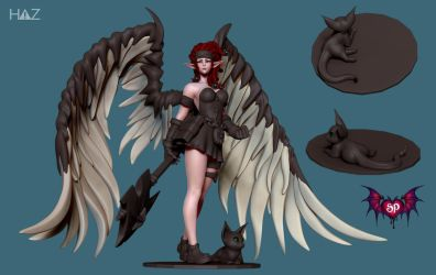 Succubus Publishing: Remi Pose 3 by HazardousArts