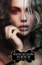 IMPROVED HIGH END SKIN RETOUCHING - PS ACTION by ModaRetouch-Graphics
