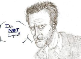 Dr House...it's NEVER Lupus by ObsessiveSketch