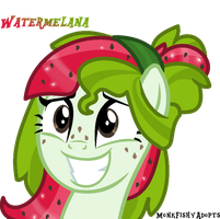 Watermelana - Awkwaaard! by MonkFishyAdopts