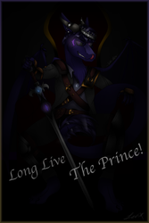 'Long Live The Prince' - Prince ThunderWing by Wolfasi-Studios