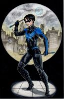 Nightwing commission by GoblinGrimm1