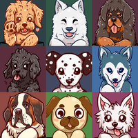 Year of the Dog - Dog portraits by SarahRichford