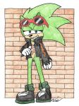 Scourge The Hedgehog by BagelofTime