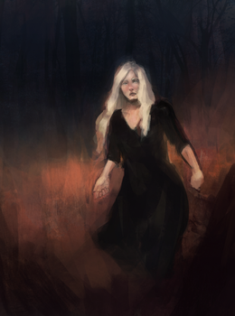Witch from the wood by ACicco