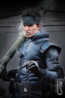Solid Snake cosplay by RBF-productions-NL