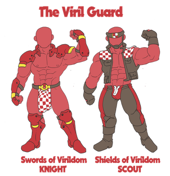 ELCOC - Classes - The Viril Guard by PedroPmaq