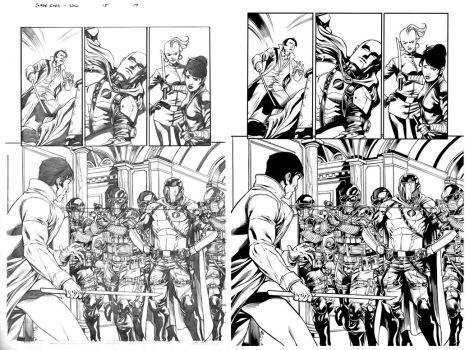 snake eyes and storm shadow 15 page 19 by juancastroinker