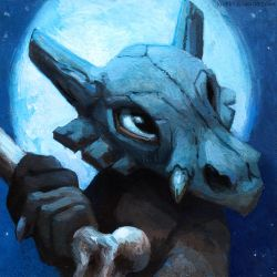 Cubone by kenket