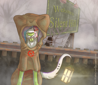 Day 10: Welome to Silent Hill by EatMoreWafflez