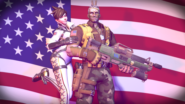 Overwatch: 4th of July by Drock625