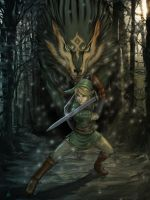 Link-Wolf FINAL by YamaOrce