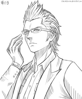 Inktober #09 - Ignis by ClaireStryfe