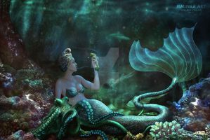 Mermaid by Malinka-art