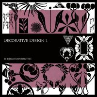 Decorative Design Set 1 by FidgetResources