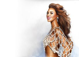 Beyonce Knowles by Todaviia