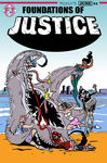 Foundation of justice mock comic cover by BlueAgrona