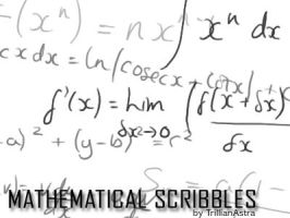 Mathematical Scribbles by TrillianAstra