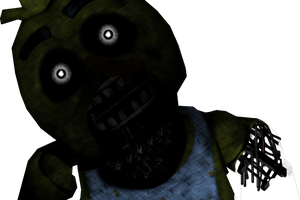 Five Nights at Freddy's - Prototype Chica FANMADE by GoldenNexus