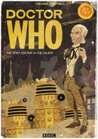 DOCTOR WHO : The First Doctor by Dawid-B