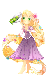::Disney Dreamies:: - Rapunzel - by MissElysium