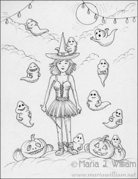 BYOG (Bring Your Own Ghosts) - sketch by MJWilliam