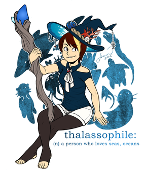 Witchsona 2015 by OceanFruit