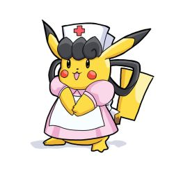 Pika Nurse [World of Pikachu] by SimonGangl