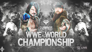 Custom Survivor Series. by LastSurvivorY2J
