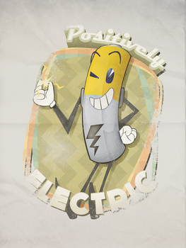 Positively ELECTRIC by TheRetroArtist